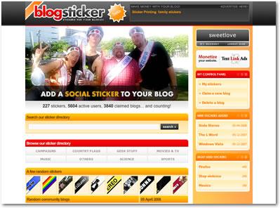 blogsticker