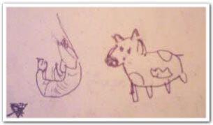 写真:エビと牛